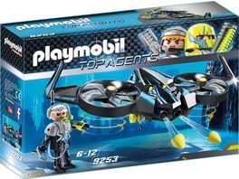 PLAYMOBIL 9253 Top Agents Mega Drone