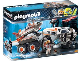 PLAYMOBIL 9255 Top Agents Spy Team Battle Truck