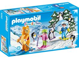 PLAYMOBIL 9282 Family Fun Skischule