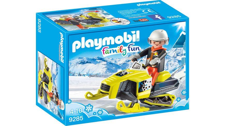 PLAYMOBIL 9285 Family Fun Schneemobil