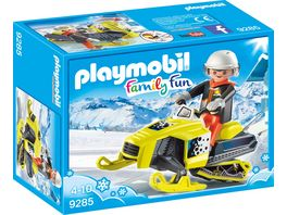PLAYMOBIL 9285 Family Fun Schneemobil
