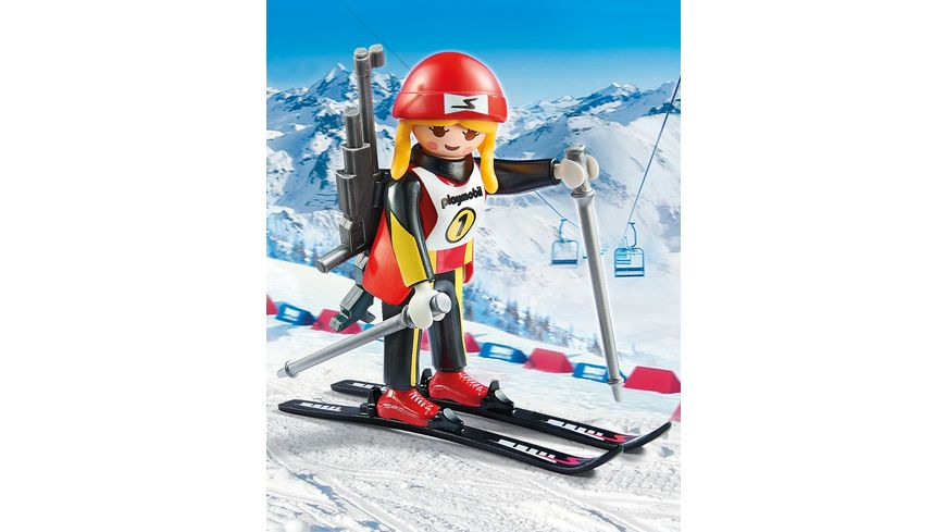 PLAYMOBIL 9287 Family Fun Biathletin