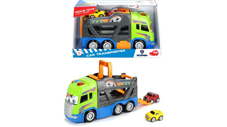 Dickie Happy Series Car Transporter