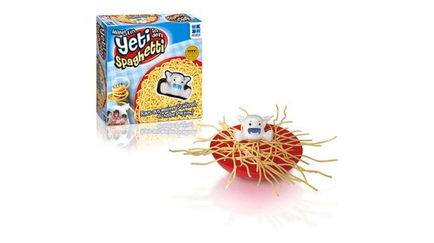 MegaBleu Hilfe Ein Yeti in den Spaghetti
