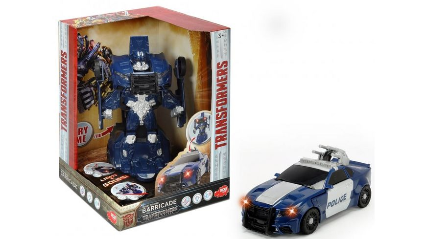 Dickie Transformers The Last Knight Robot Fighter Barricade