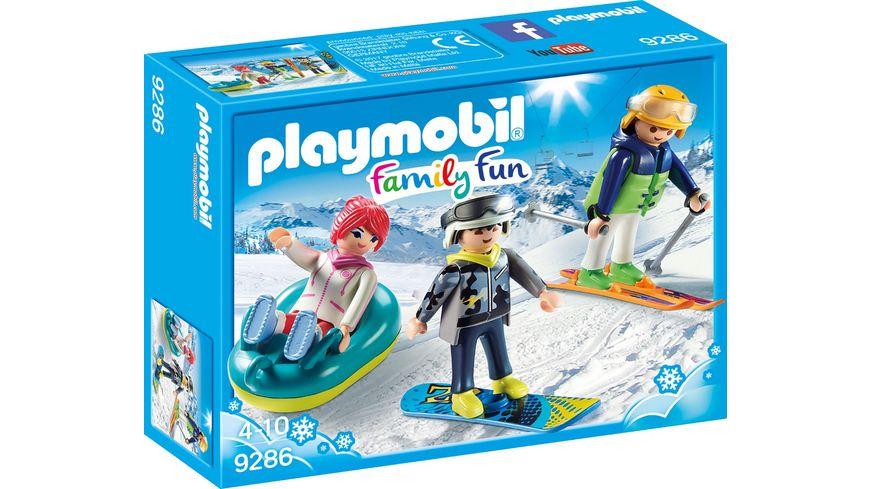 PLAYMOBIL 9286 Family Fun Freizeit Wintersportler