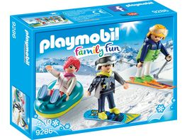 PLAYMOBIL 9286 Family Fun Freizeit Wintersportler