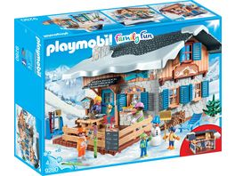 PLAYMOBIL 9280 Family Fun Skihuette