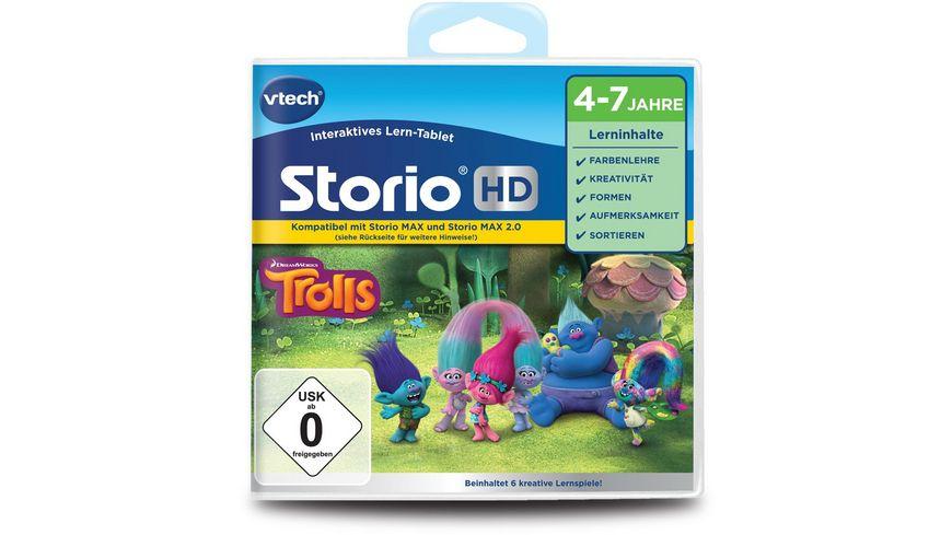 VTech Storio MAX und Storio TV Lernspiel Trolls HD