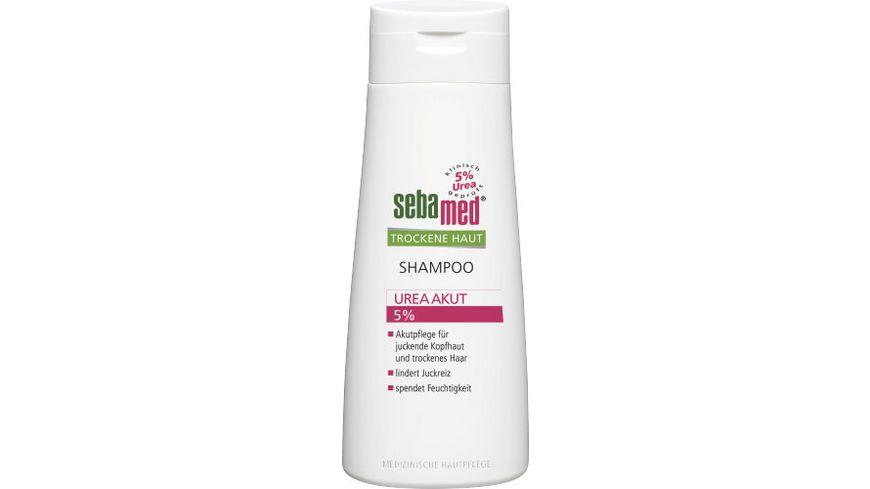 sebamed Shampoo Trockene Haut Urea Akut 5