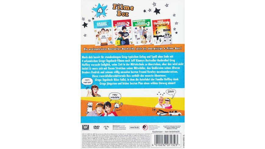 Gregs Tagebuch 1 4 4 DVDs
