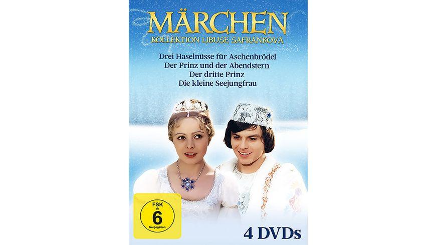 Maerchen Collection Libuse Safrankova 4 DVDs