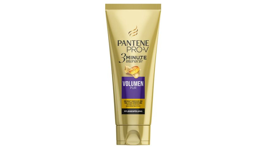 PANTENE PRO V Pflegespuelung Volumen Pur 3 Minute Miracle