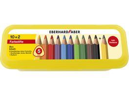EBERHARD FABER Buntstifte Jumbo dreikant hf 12tlg Box
