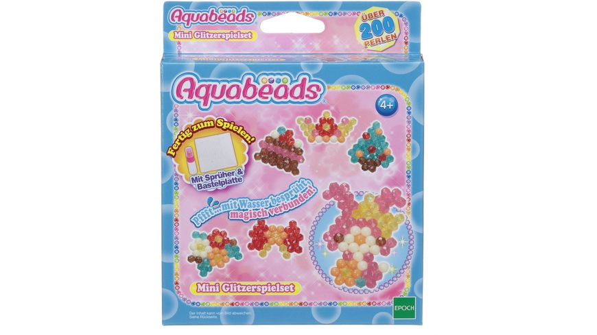 Aquabeads Mini Glitzerspielset