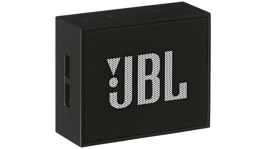 JBL Go Bluetooth Lautsprecher Schwarz