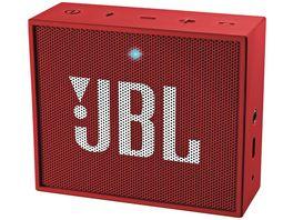 JBL Go Bluetooth Lautsprecher Rot