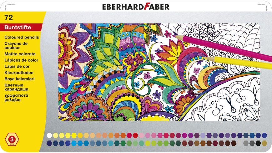 EBERHARD FABER Buntstift hexagonal 72er Blech