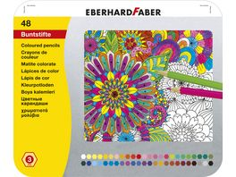 EBERHARD FABER Buntstift hexagonal 48er Blech