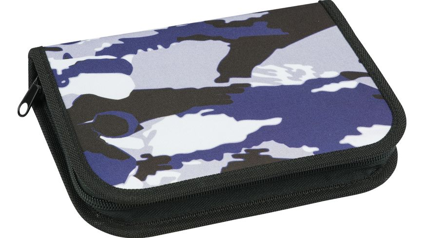 EBERHARD FABER Schueleretui Camouflage 32tlg befuellt