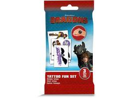 CRAZE Dragons Tattoo Fun Set