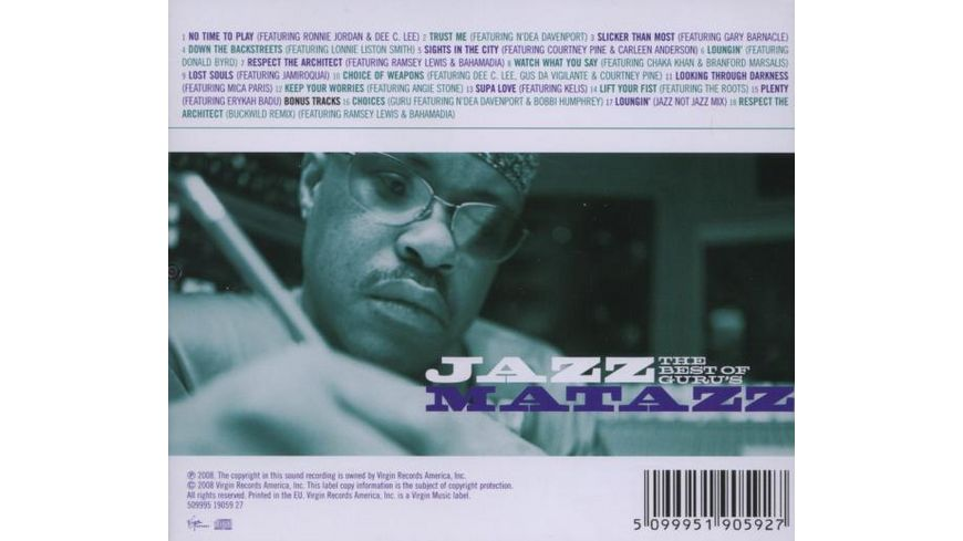 Best Of Guru s Jazzmatazz