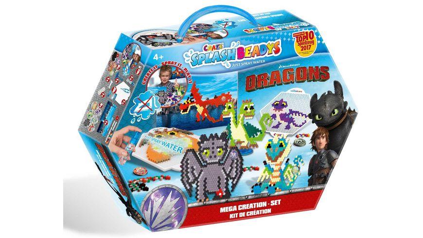 CRAZE Splash Beadys Dragons Creation Set