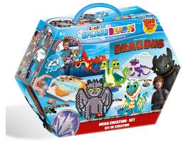 CRAZE Splash Beadys Dragons Creation Set