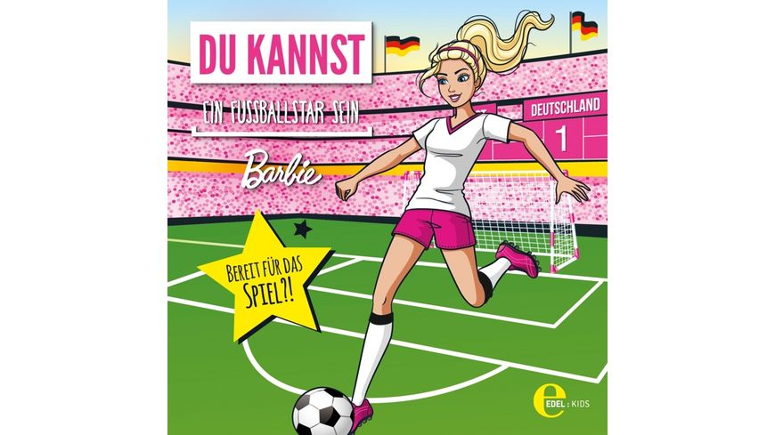 Barbie als Fussballstar HSP
