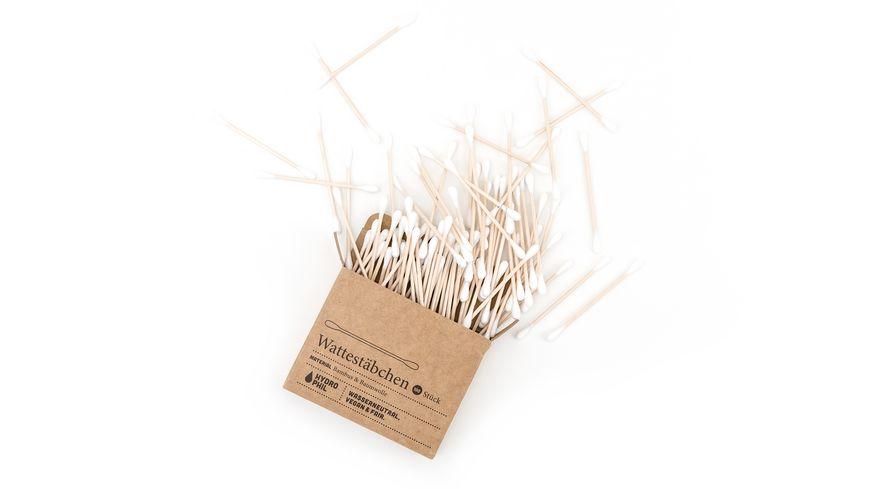 HYDROPHIL Wattestaebchen Bambus Baumwolle