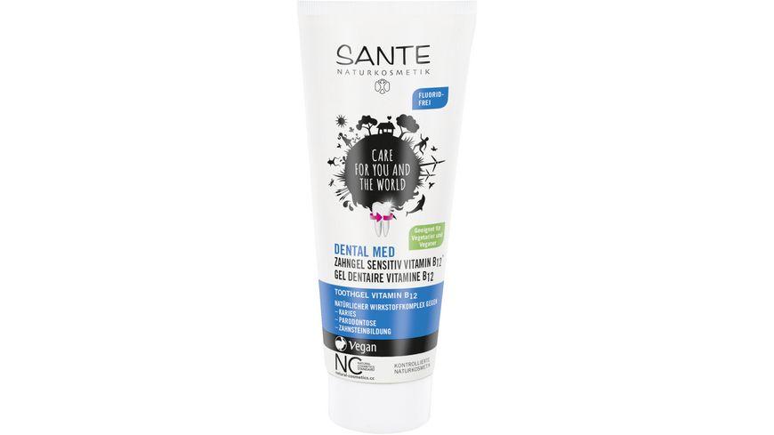 SANTE Dental Med Zahngel Sensitiv Vitamin B12