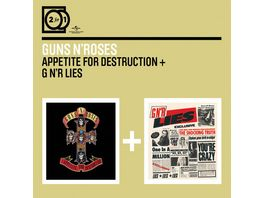2 For 1 Appetite For Destruction GN r Lies JC