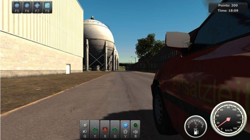 Werksbrandschutz Die Simulation