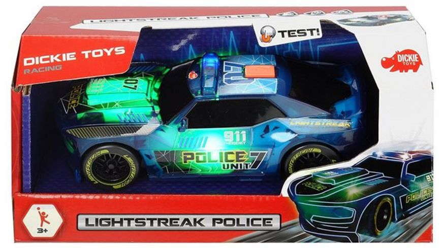 Dickie Mechanik Lightstreak Police