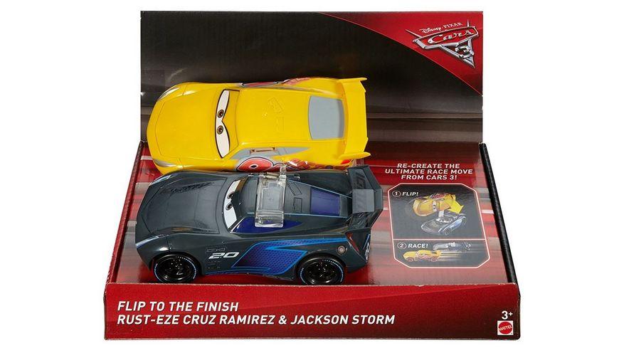Mattel Disney Cars 3 Ueberschlag Zielrennen
