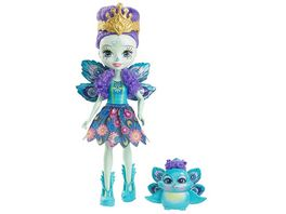 Mattel Enchantimals Pfauenmaedchen Patter Peacock