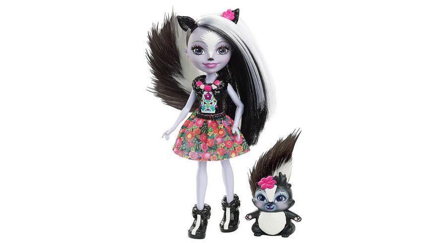 Mattel Enchantimals Stinktiermaedchen Sage Skunk
