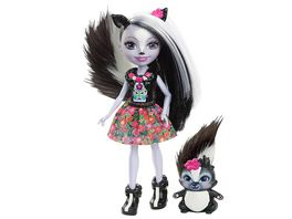 Mattel Enchantimals Stinktiermaedchen Sage Skunk