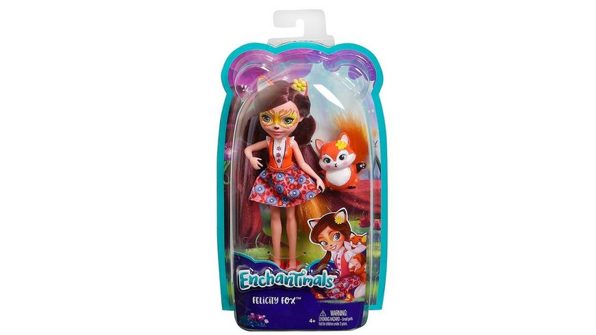 Mattel Enchantimals Puppe Fuchsmaedchen Felicity Fox