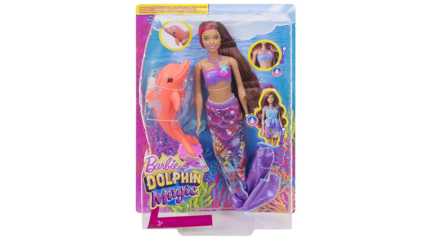 Mattel Barbie Magie der Delfine Meerjungfrau