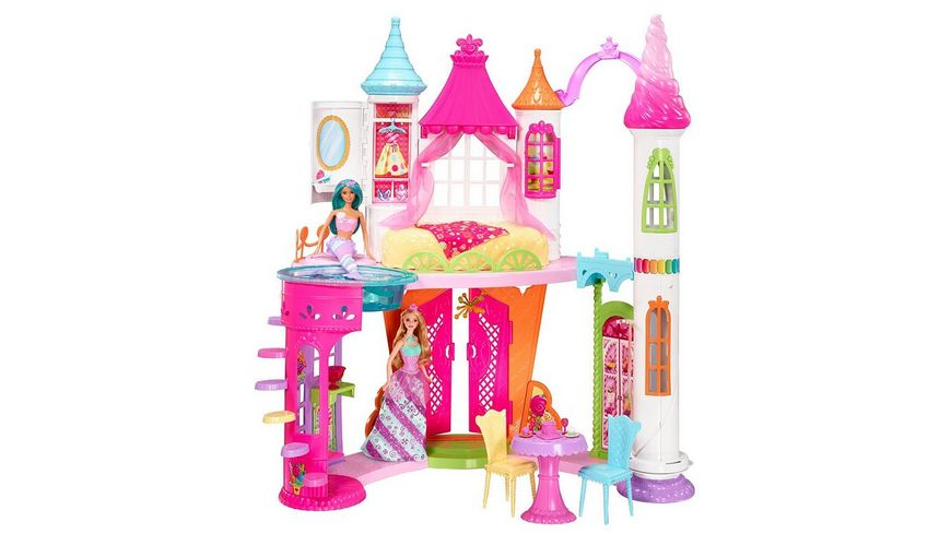 Mattel Barbie Bonbon Koenigreich Schloss