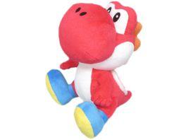 Nintendo Pluesch Yoshi 17cm rot