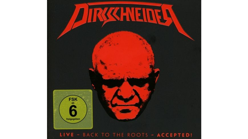 Live Back To The Roots Accepted DV 2CD Digi