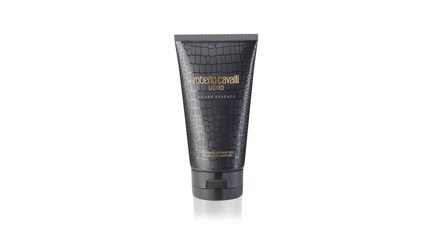 Roberto Cavalli Uomo Silver Essence Perfumed Shower Gel