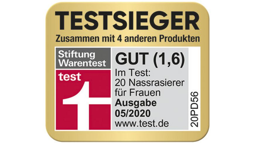 Gillette Venus Rasierapparat 1 Klinge gratis