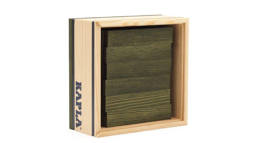 Kapla Holzbausteine gruen 40er Box