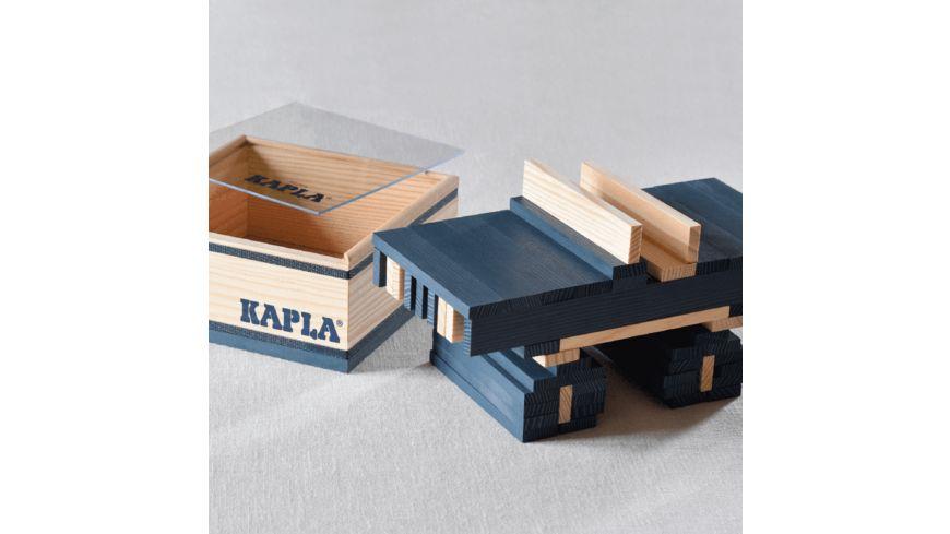 Kapla Holzbausteine hellblau 40er Box