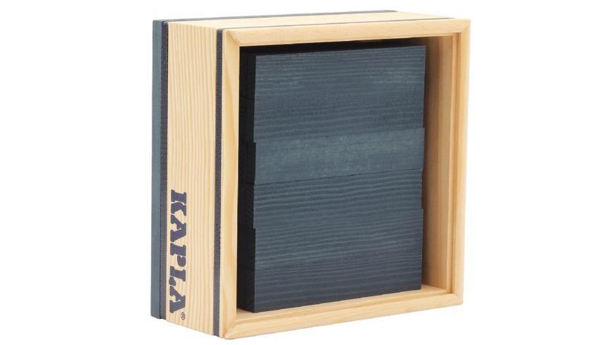 Kapla Holzbausteine dunkelblau 40er Box