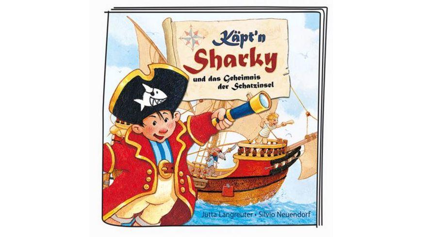 tonies Hoerfigur fuer die Toniebox Kaept n Sharky und das Geheimnis der Schatzinsel