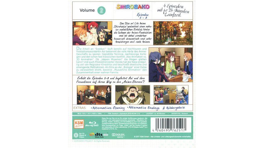 Shirobako Staffel 1 2 Episoden 05 08
